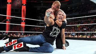 Top 10 Raw Moments: WWE Top 10, June 22, 2015