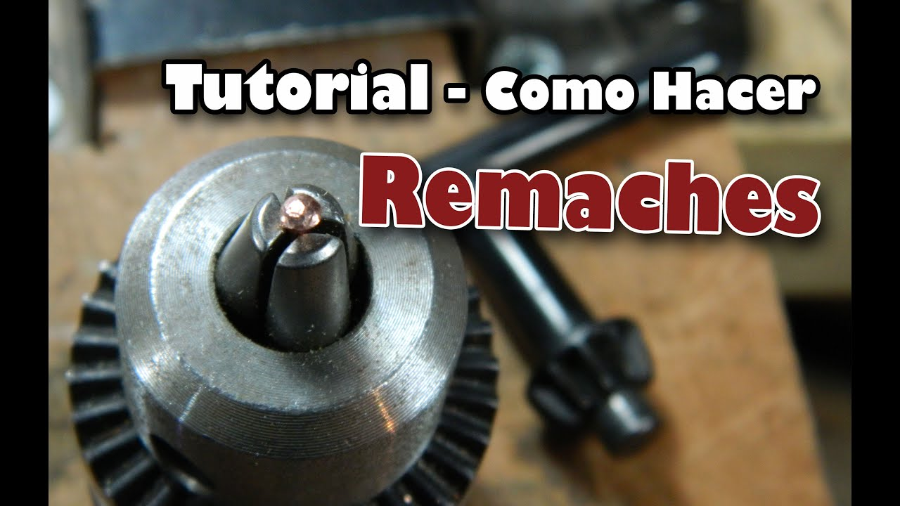 Tutorial como hacer remaches youtube for Remaches de hierro