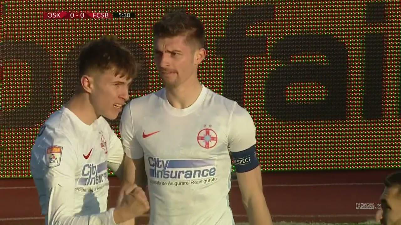 GOOOL! Sepsi Sfântu-Gheorghe - FCSB 0-1. Tănase înscrie elegant, după o pasă de la Octavian Popescu