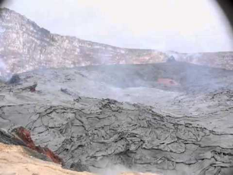Kilauea Crater Collapses