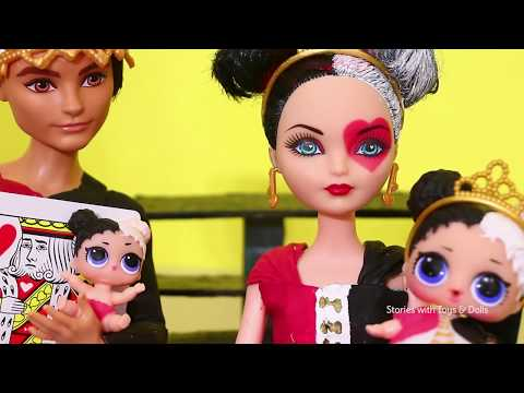 LOL Families ! The Heartbreaker LOL Family & the Soda Machine ! Toys and Dolls Fun for Kids | SWTAD