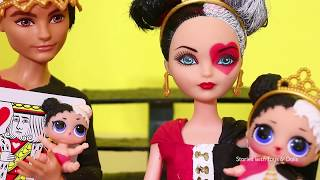 LOL Families ! The Heartbreaker Family & the Soda Machine ! Toys and Dolls Fun Pretend Play