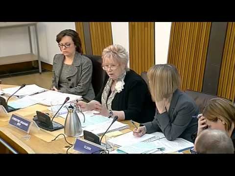 Justice Committee - Scottish Parliament: 14th May 2013