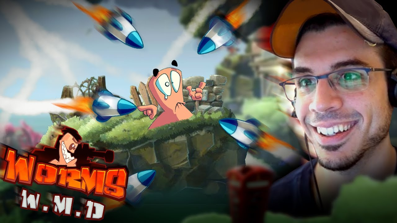 THE KING OF TRICKSHOTS! (Worms W.M.D)