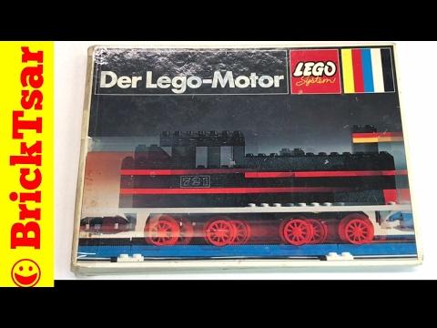 LEGO Train Idea Book #242 Der LEGO-Motor from 1970! Classic!
