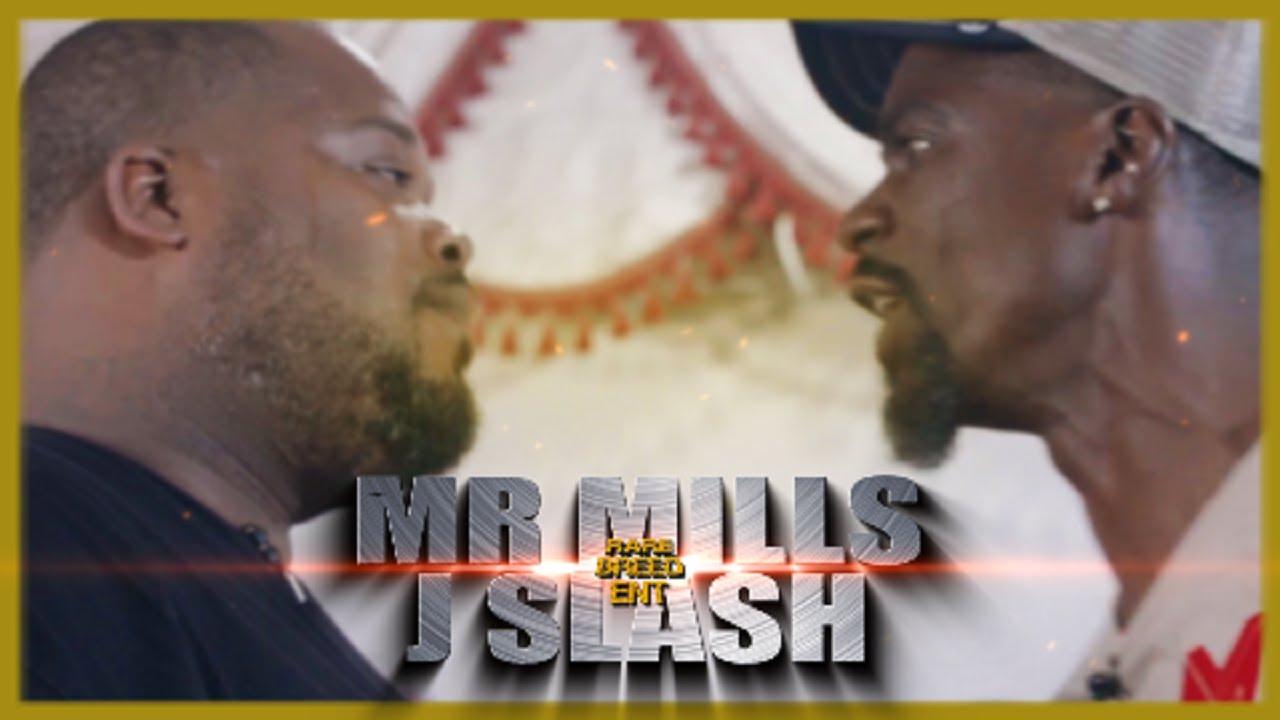 MR MILLS VS J SLASH RAP BATTLE - RBE