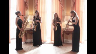 The Arrival of the Queen of Sheba by George Frideric Handel. Marici Saxes - Saxophone quartet