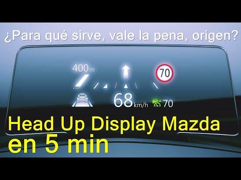 Tecnológico!! Lo que necesito saber del HUD de Mazda en 5 min!!!