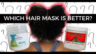 Natural Rizado or Bentonite Clay | Which Mask is Better for Thin, Fine, 4C Hair? #NaturalHair