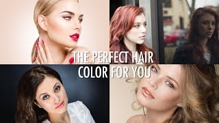 HOW TO: Find the Perfect Hair Color + Valentines Day Hairstyle!