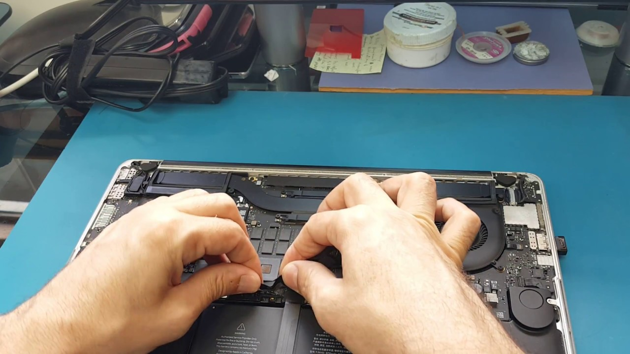 how to remove macbook pro battery 15 inch