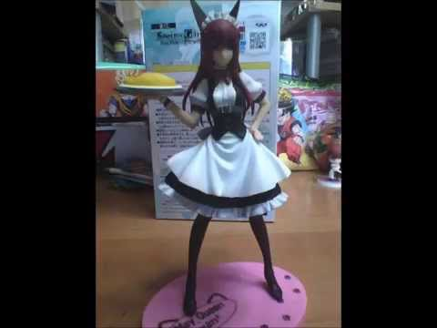 Steins Gate  Makise Kurisu Maid Cosplay Figure and more!