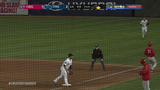 Ronald Herrera Pitches into Double Play to End Inning (051217)