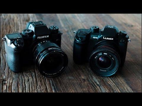 Panasonic GH5 vs Fuji X-H1: Music Video Field Test