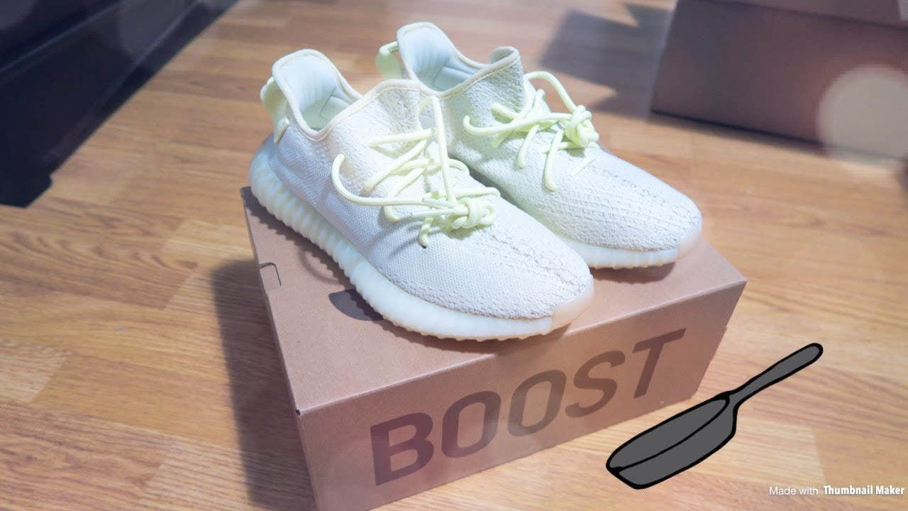 c566df9ebdefd Adidas Yeezy Boost 350 V2 Butter Unboxing From StockX