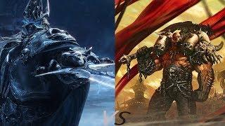 Король Лич vs Воин (прохождение) 4й герой !