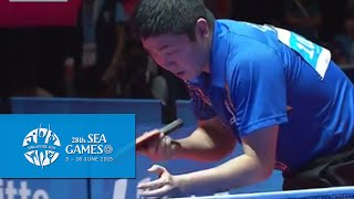 Table Tennis Mens' Team Finals Vietnam vs Singapore Match 2 | 28th SEA Games Singapore 2015