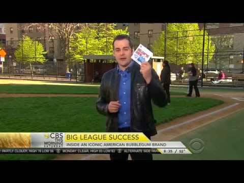 CBS This Morning Features Big League Chew