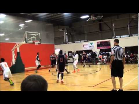 Hurricanes 15u in the Bigfoot Classic Basketball Houston Day 2