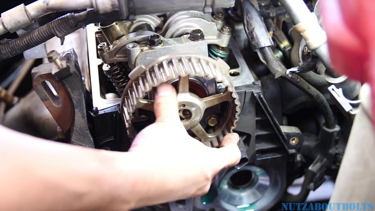 honda civic timing belt replacement part  youtube