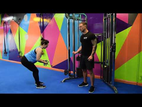 Bent Over Close Grip Cable Row by MYPTonline