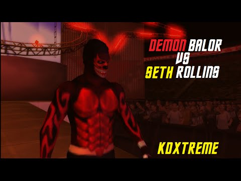 Demon Finn Balor vs Seth Rollins Summerslam Simulation WWE SvR 2011