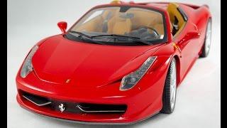 Review Ferrari 458 Spider 1:18 Hotwheels Elite