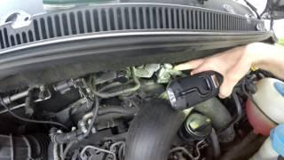 How EGR Valve Remove in a car Volkswagen Audi Skoda