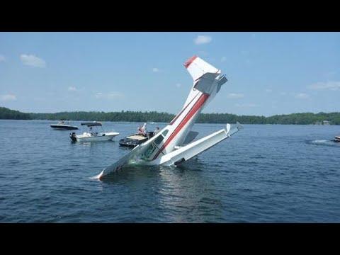 Seaplane Crash Compilation