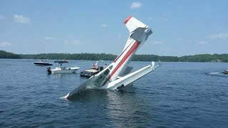 Seaplane Crash Compilation | Plane crash into the water | Bad day at work compilation