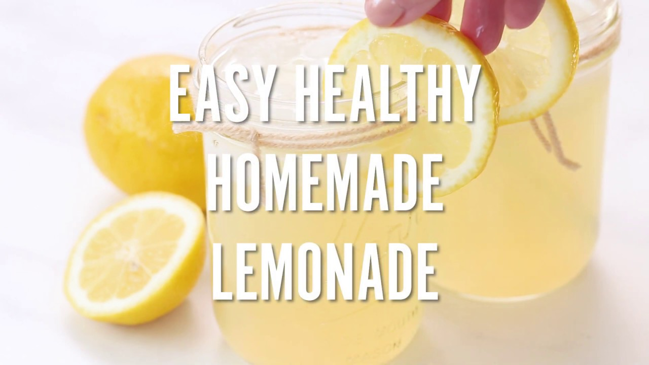 Easy Healthy Homemade Lemonade Don T Waste The Crumbs