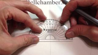 How to Draw Celtic patterns 56 - A simple Triskele knot in an irregular shape - 2of5