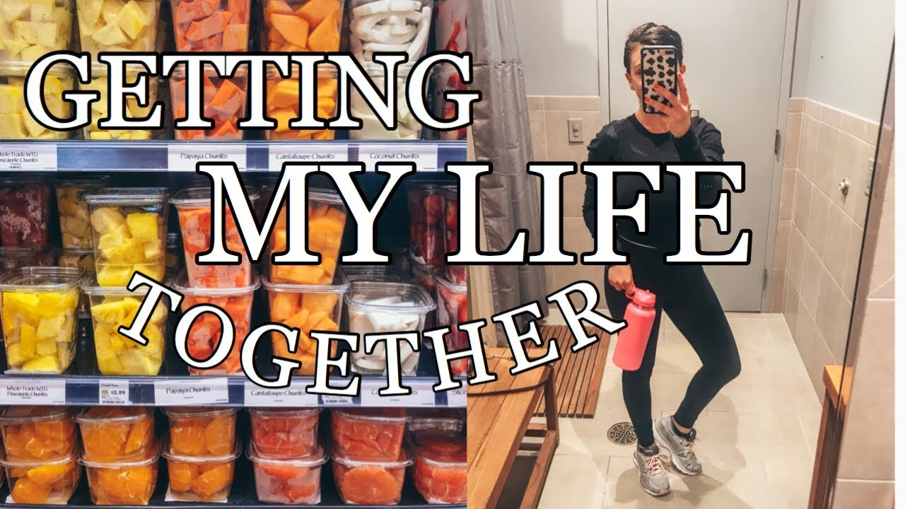 VLOG: getting my life together post travel, being productive, and grocery shopping