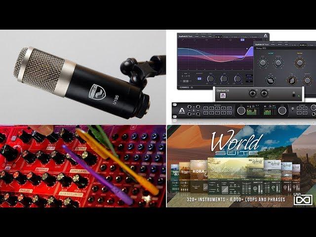 NAMM 2018 : Produits à Surveiller | Behringer Neutron | UVI World Suite | DualPath FX | U195