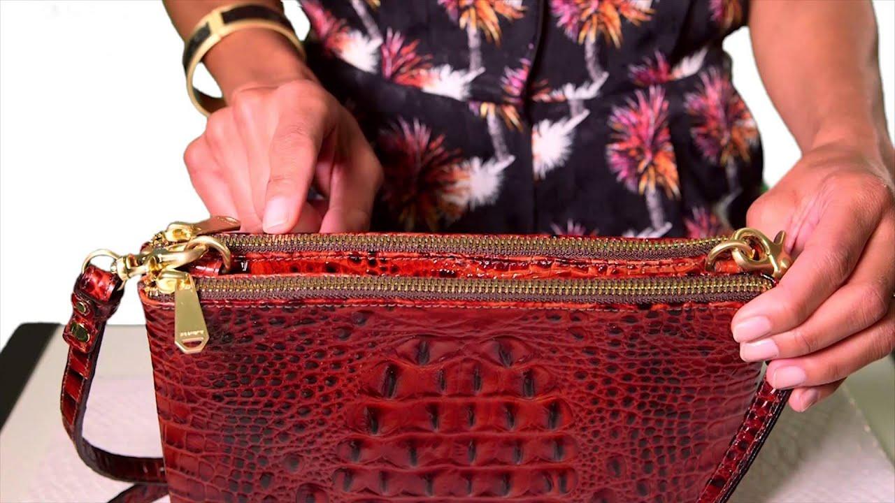 f19b5f6928cc Brahmin Perri Crossbody Video. Brahmin Handbags