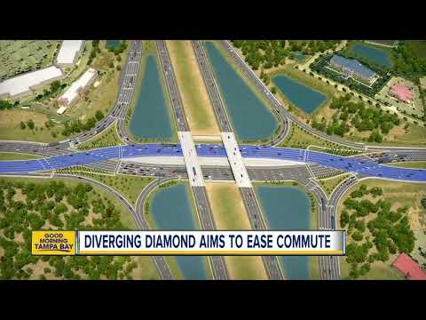 New diverging diamond interchange at I-75, State Road 56 intersection to ease traffic