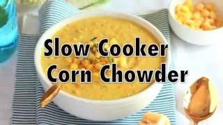 Vegan Corn Chowder Soup Recipe