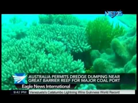Australia Permits Dumping of Dredged Mud Near Great Barrier Reef