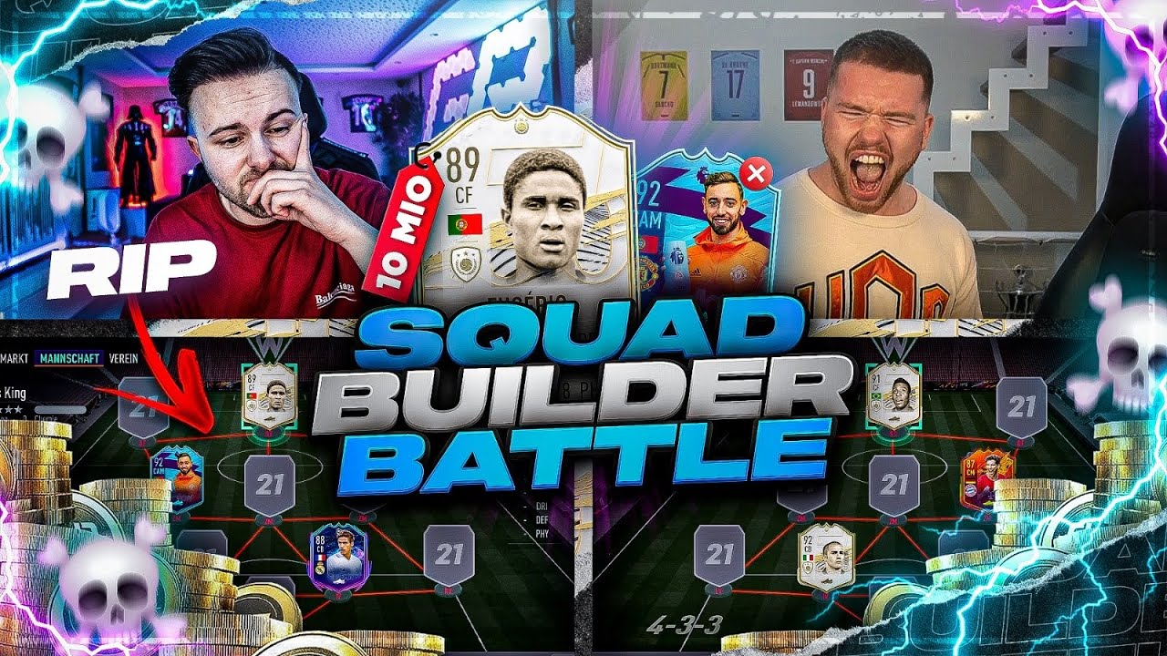 FIFA 21: 10 MIO Coins SQUAD BULDER BATTLE vs Proownez 🔥🔥
