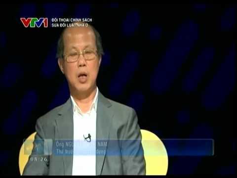 Đối thoại chính sách  Sửa đổi Luật nhà ở   Video  Đài truyền hình Việt Nam