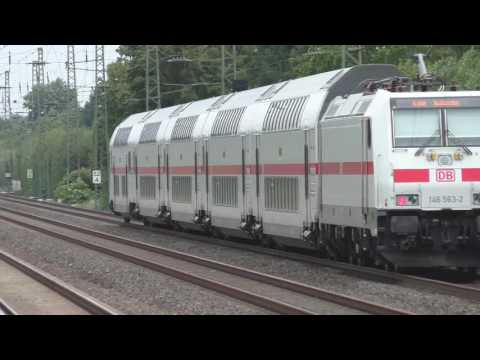 German Trains Sweeping views of Deutsche Bahn at Angermund August 2016