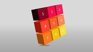How to create 3d cube infographic in Microsoft PowerPoint. PPT tricks.