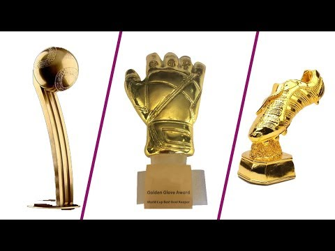 World Cup 2018  কে কি পেলেন  Golden BallGolden Boot Golden Glove  News Valley