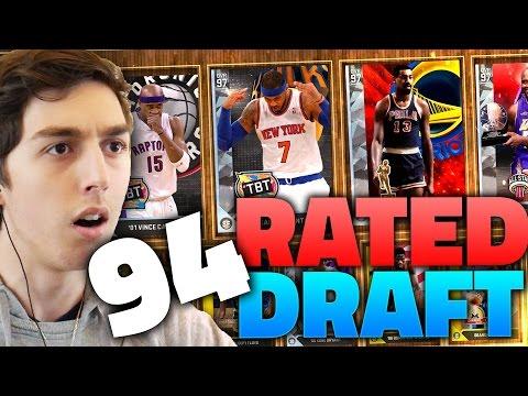 94 RATED DRAFT!! NBA 2K16 DRAFT
