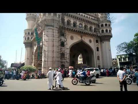 Yella's Hyderabad Part I||Charminar||Mecca Masjid||Shadab||High Court||Hyderabad Tourism