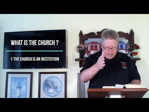 Messages - You & The Church - Lesson #1 - What is the Church - Dr. Dave Burnette