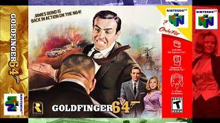 Goldfinger 64 Walkthrough Part 18 Plane (Finale) 00 Agent