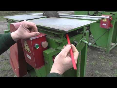 Самодельный деревообрабатывающий станок. Регулировка и механизм подъема стола