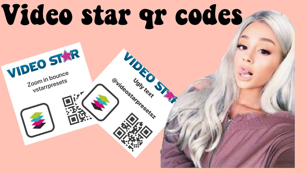 qr codes video star 3d