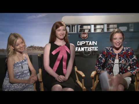 """Captain Fantastic"" Interview with Child Actresses"